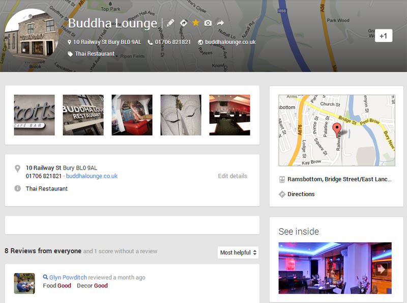 Create a Google+ Local Page